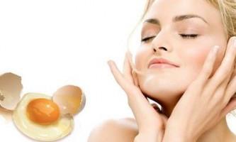 «... А голка в яйці» або омолоджуючі яєчні маски для обличчя