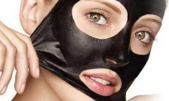Активоване вугілля в масках для особи - економ на косметолога!