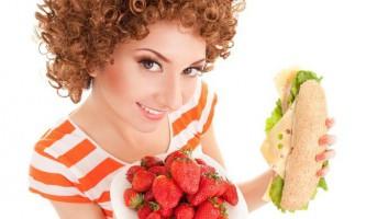 Велика дієта: раціон дня