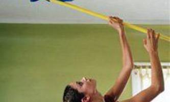 Чим і як мити натяжні стелі, видаляємо пил і плями з поверхні