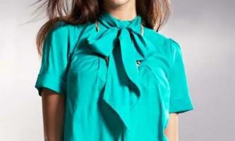 Ділова мода осені 2012. Модні блузки 2012 для офісу і не тільки