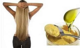 Гірчична маска для росту волосся