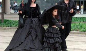 Готичний стиль в одязі