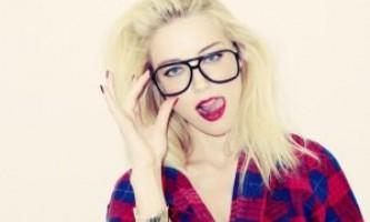 Хіпстерскіе окуляри як доповнення до образу