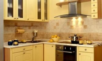 Цікавий дизайн інтер`єру маленької кухні