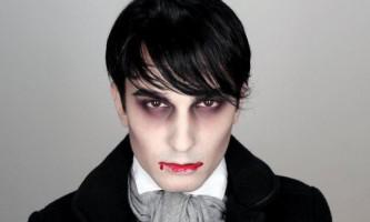 Цікавий макіяж для чоловіків на хеллоуїн