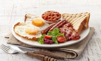 З чого складається англійський сніданок?