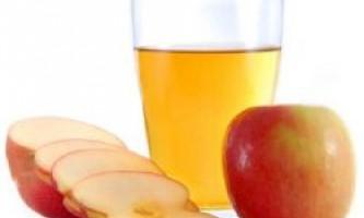 Яблучний оцет для обличчя