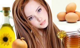 Яєчні маски для волосся
