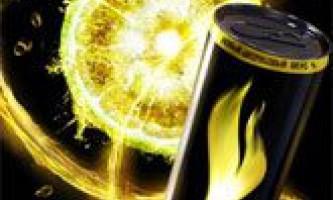 Енергетичні напої (енергетики). Шкода і користь енергетичних напоїв. Історія появи і зміст енергетичних напоїв