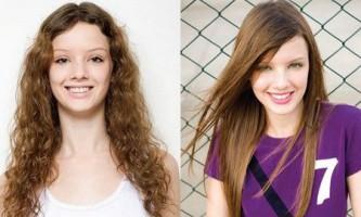 Як кератіновие випрямлення волосся «запечатає» гладкість?