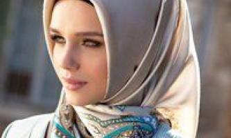Як красиво зав`язувати хіджаб, опис декількох способів