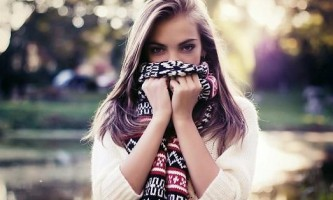 Як краще носити різні шарфи? (15 фото)
