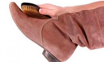 Як мити замшеве взуття