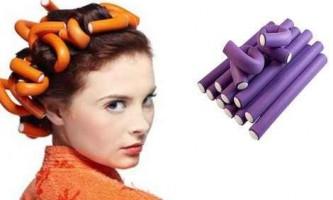 Як накрутити волосся на папільйотки