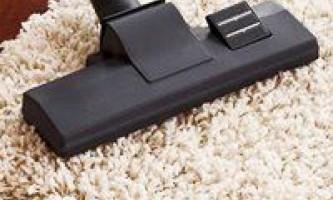 Як очистити килим будинку, методика процедури і засоби для цього