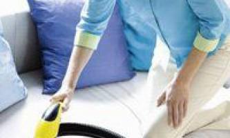 Як почистити диван в домашніх умовах, способи чистки і виведення плям