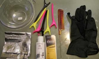 Як правильно зробити мелірування волосся в домашніх умовах?