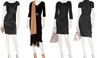 Що носити з чорним платтям: класика і сучасність