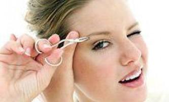 Як правильно вискубувати брови, методика і рекомендації