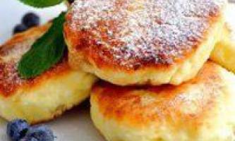 Як приготувати сирники з сиру, рецепт смачної страви