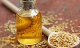 Як приймати лляне масло для схуднення, користь від його прийому