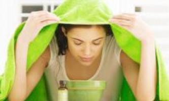 Як розпарити обличчя: поради - рецепти - відео
