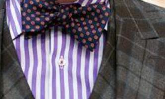 Як зшити краватку своїми руками, класичний і метелик