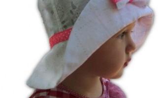 Як зшити річну капелюх для дівчинки