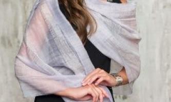 Як зав`язати палантин на шиї: практичні поради модницям