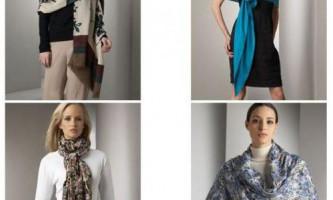 Як зав`язати шарф і палантин: фото і відео