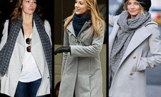 Як зав`язати шарф на пальто