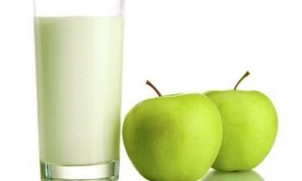 Кефіру яблучна дієта