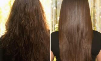 Кератірованіе волосся
