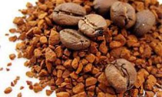 Кава: розчинний або в зернах. Корисні властивості і ефект кави. Антиоксиданти в каві. Види розчинної кави. Користь і протипоказання кави