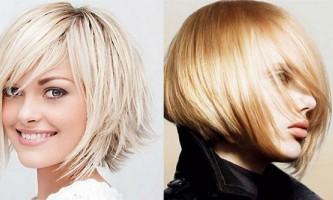 Красива стрижка боб на середні волосся