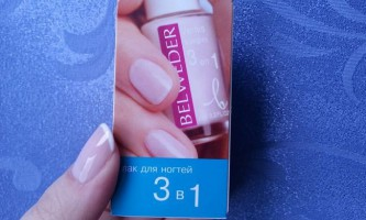 Лак «бельведер» для нігтів від грибка