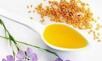 Лляна олія: цілющі і лікарські властивості, лікування. Лляна олія в косметології для обличчя, тіла і волосся