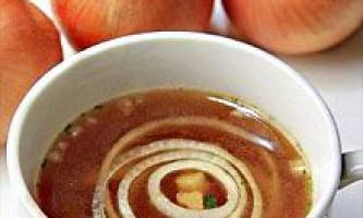 Цибулевий суп для схуднення: меню, рецепти, відгуки