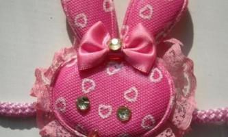 Маска зайчика для новорічного костюма дівчинки своїми руками