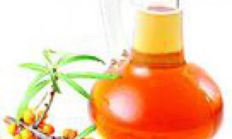 Маски для обличчя з обліпихової олії