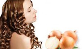 Маски з лука для лікування, зміцнення і зростання волосся