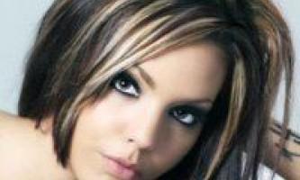 Мелірування на темне волосся, методика та особливості
