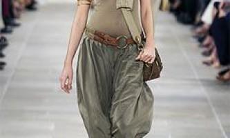 Мода 2009: жіночі брюки сезону літо 2009