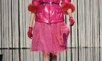 Мода: модні тенденції сезону «осінь-зима 2009-2010»