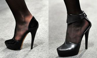 Мода сезону осінь-зима 2009/2010 - модне взуття: туфлі, батільони, напівчоботи і чоботи