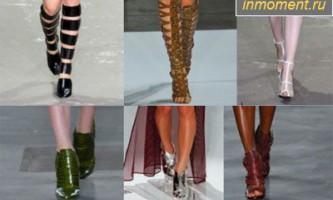 Модне взуття літо 2013