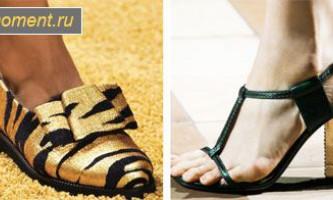 Модне взуття літо 2014