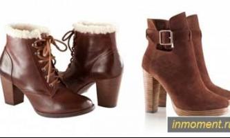 Модне взуття осінь 2012: туфлі, чоботи, ботильйони і балетки
