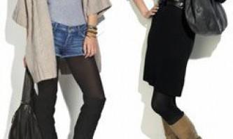 Модне взуття зима 2009-2010. Довгі зимові жіночі чоботи: чоботи-панчохи, ботфорти, чоботи на низькому і високому каблуці, чоботи зі шкіри та замші